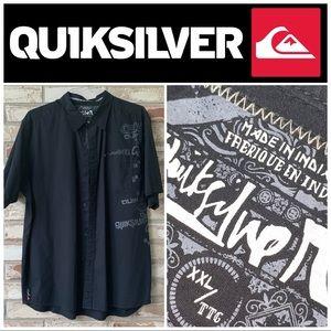 XXL Quiksilver Black SS Shirt